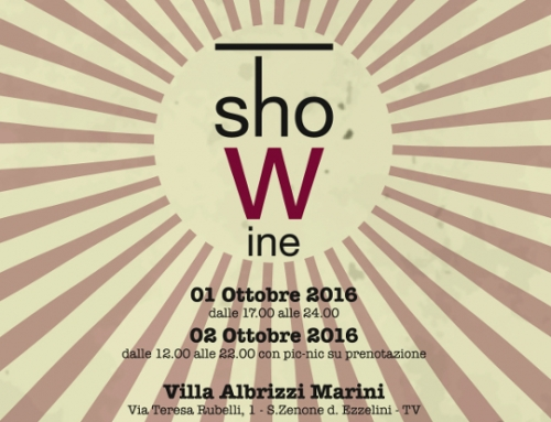 ShoWine 2016 in Villa Albrizzi!